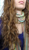 Natural hair before dreadlocks