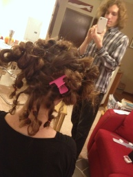 Sectioning alone took a couple hours
